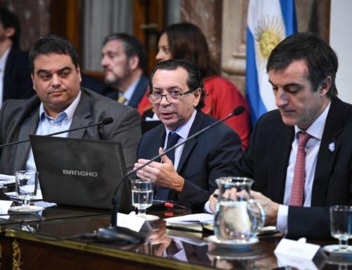 El ministro Sica defendió el Presupuesto 2019 en el Senado