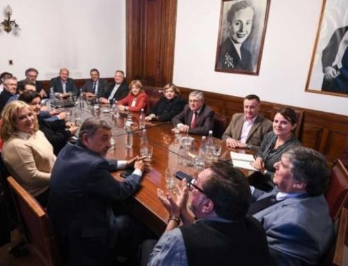 Caserio se quedó con la conducción del bloque del PJ Senado
