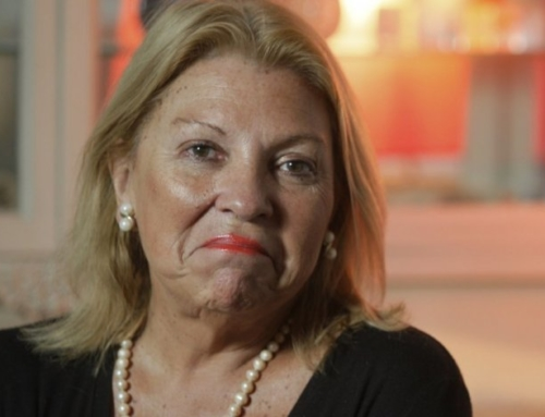 """Si gana Cristina yo voy presa"""