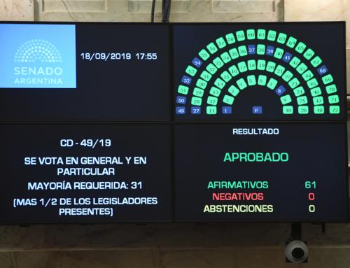 Por unanimidad, se aprobó la Emergencia Alimentaria en Senado
