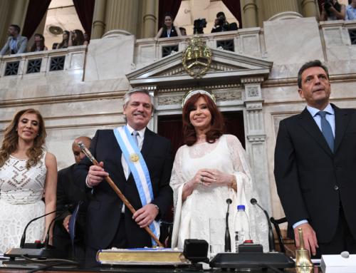 Alberto Fernández y Cristina Fernández de Kirchner juraron como Presidente y Vicepresidenta