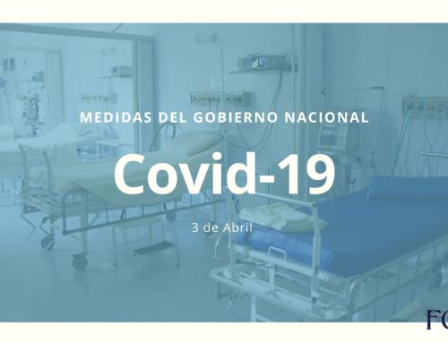 Covid-19: Resumen de medidas del PEN