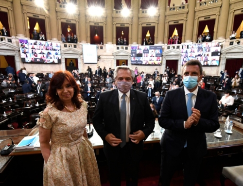 Alberto Fernández inauguró el 139° periodo ordinario